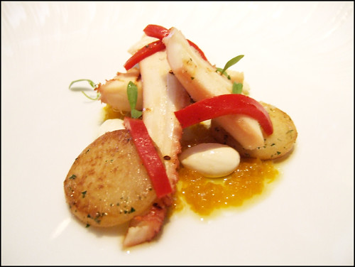 The French Laundry (Yountville) - GRILLED PACIFIC OCTOPUS