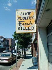 """Live Poultry Fresh Killed"""