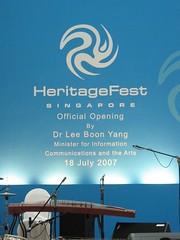 Singapore Heritage Fest 2007