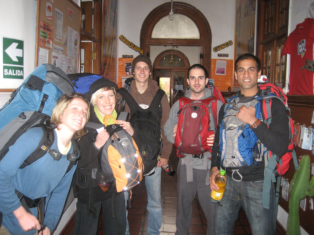 Backpackers!