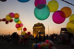 Balloons at India Gate, New Delhi