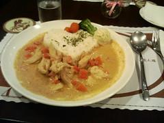 椰汁雞肉飯