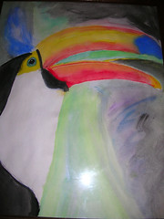 """Toucan"" Theresa's Original Art Watercolor on Paper"