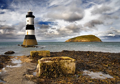 """anglesey : lighthouse and puffin island • <a style=""""font-size:0.8em;"""" href=""""http://www.flickr.com/photos/75475694@N00/1083476818/"""" target=""""_blank"""">View on Flickr</a>"""
