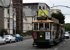 New Zealand South Island Christchuch..Tram (1087) (pjwar) Tags: newzealand christchurch tram southisland pjwar