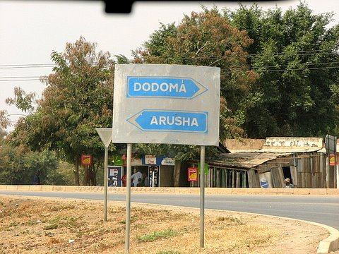 Dodoma one way, Arusha another