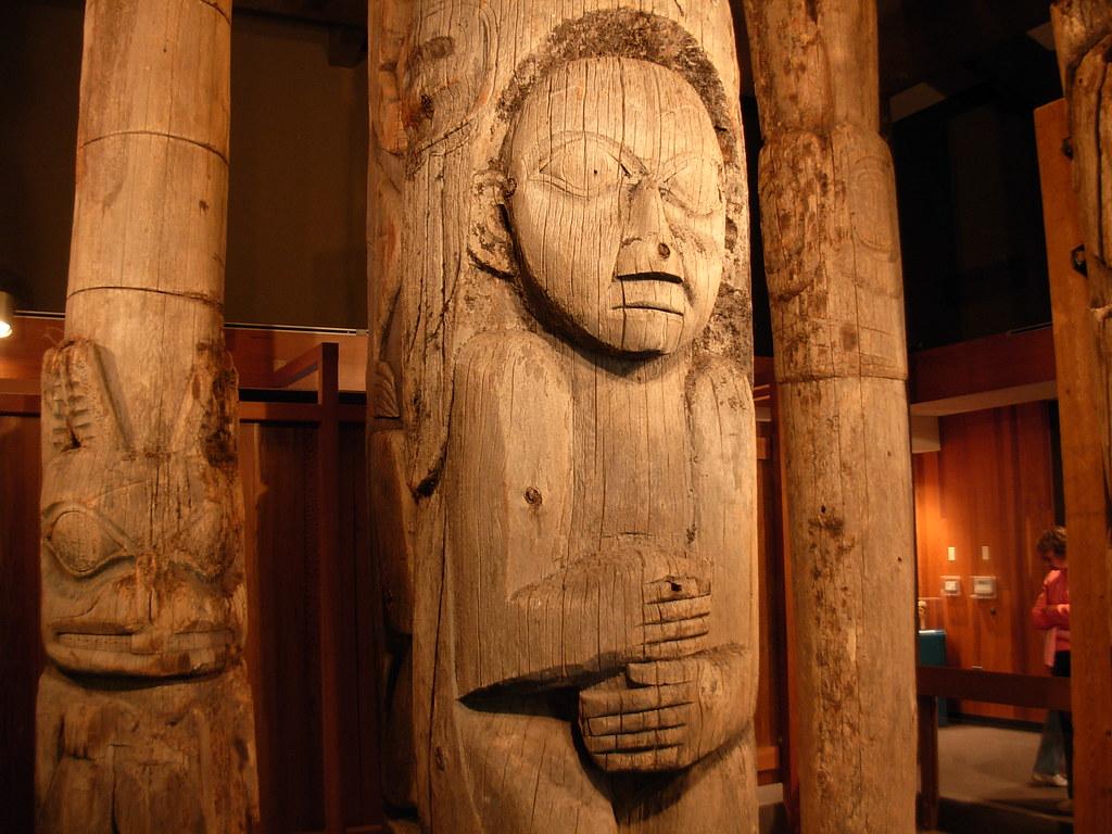 Totem Poles - Ketchikan, Alaska