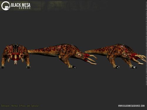 Black Mesa juego Bullsquids