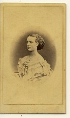 CDV princess alexandra (Faces from the past...) Tags: old woman beauty vintage denmark fan women princess cabinet britain antique feminine gorgeous victorian royal queen card alexandra corset cdv british elegant 1860s royalty carte royals tighlacer