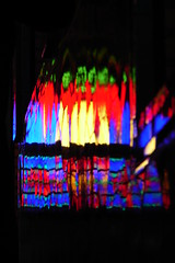 Beauty of Chaos (Hamed Saber) Tags: reflection window geotagged persian colorful iran persia saber gathering iranian  esfahan hamed isfahan farsi            upcoming:event=235013