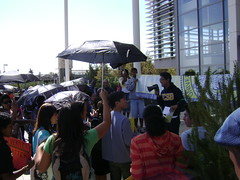 UCSA rally outside the UC Regents meeting