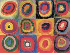 Wassily-Kandinsky-Colour-Studie--Squares-80088 (cecy_investigacion) Tags: xx siglo metafsica