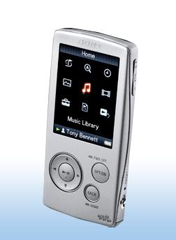 SonyStyle.com | Sony | 8GB Walkman® Video MP3 Player :  mp3 mp3 player sony video