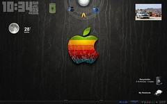 Dektop appleblack (Eik Jsa) Tags: desktop windows apple macintosh mexico pc mac laptop lap erick xp linux vista tunning ubuntu escritorio coahuila saltillo siete tunear tuninig