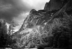 Mirror Lake Landscape 6 (B&W)