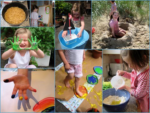 messy play carnival