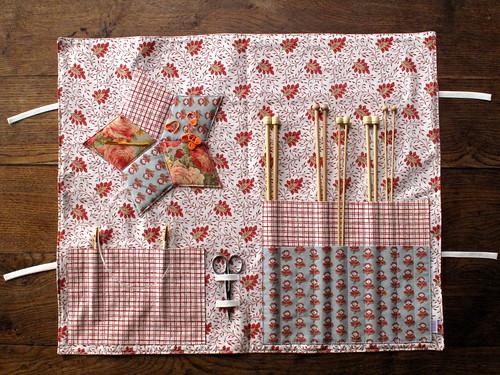 #14 Estojo de agulhas de tricot
