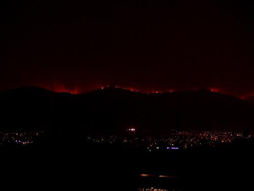 Athènes en flamme