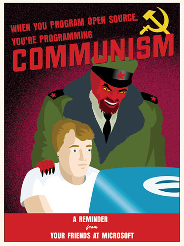 Open Source = Communism | Flickr - Photo Sharing!