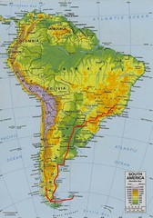 Trip plan for march 2007: from Belo Horizonte (Brasil) to Port Stanley/Puerto Argentino (Falklands/Malvinas)