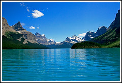 Mountains Range (shafa) Tags: canada mountains jasper alberta malignelake peopleschoice shafa4