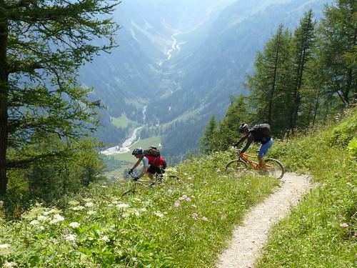 Into Switzerland