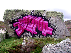 Ibex--Scotland (Lord Leigh) Tags: streetart art graffiti mono scotland stencil sticker artist lord viking ibex monoclothing skerray borgie