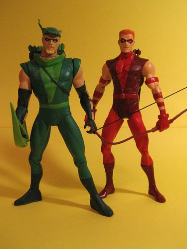 Green Arrow and Red Arrow
