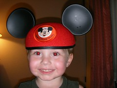 Cute smiley Mickey Mouse