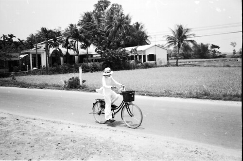 Pedaling to School - Hoi An