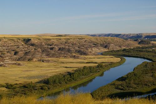 Red Deer River near Drumheller