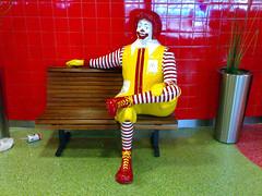 Disrespecting Ronald McDonald