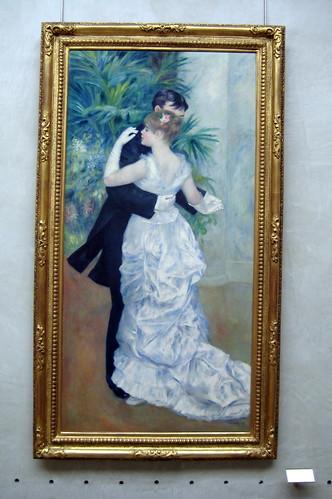 Paris - Musée d'Orsay: Pierre-Auguste Renoir's Danse à la ville