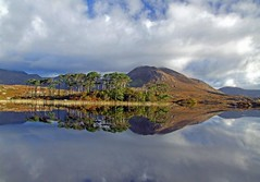 Derryclare Lake reflections,Connemara,Galway,Ireland (kliffklegg) Tags: ireland irish lake mountains galway reflections pins eire connemara 12 breathtaking bens clifden briankelly naturesfinest derryclare 10faves flickrsbest kliffklegg