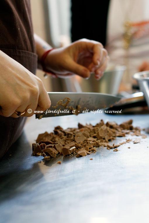 Tritando il cioccolato