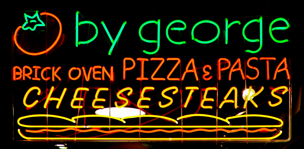 4596520337 309e08577f b By George Brick Oven Pizza & Pasta / Cheesesteaks