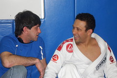 Marcelo Alonso and Renzo Gracie