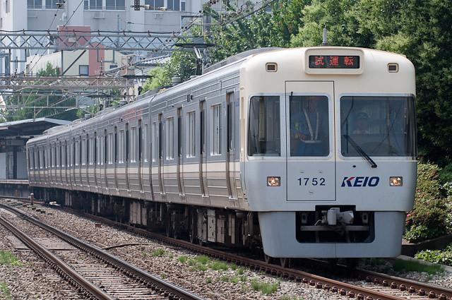 京王電鉄井の頭線1000系 1002F 試運転