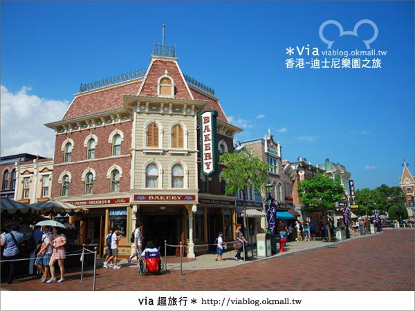 【香港自由行】跟著via玩香港(1)~爆走香港迪士尼樂園17