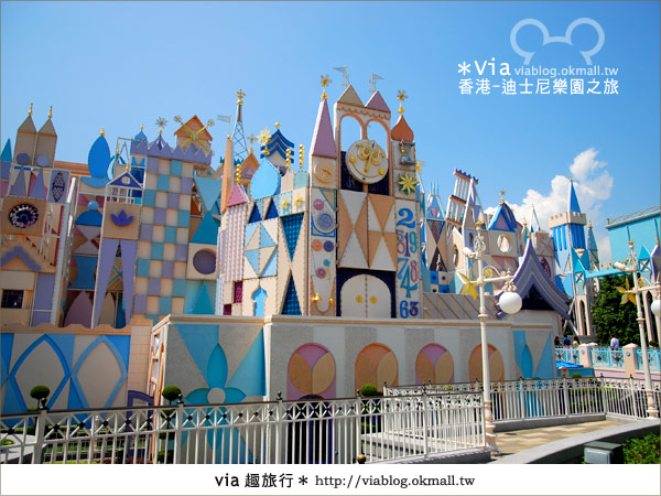 【香港自由行】跟著via玩香港(1)~爆走香港迪士尼樂園38