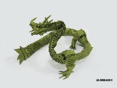 Ryujin (Al3bbasi.) Tags: origami dragon chinese fantasy mythical ryujin kamiyasatoshi ryuzin al3bbasi ryujin35