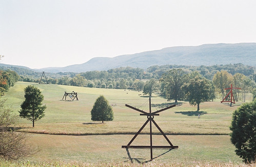 South Fields, Storm King Art Center (4 Sculptures by Mark di Suvero)