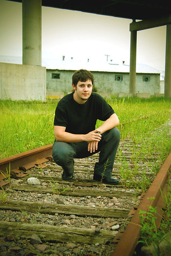Jake on the Tracks