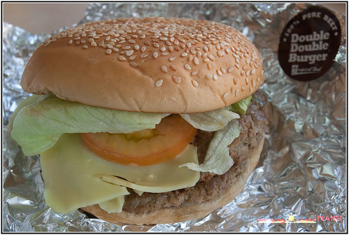 Tropical Hut's Double Burger (P115)