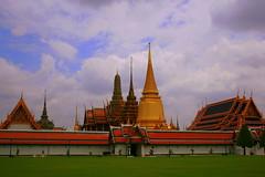 The Royal Palace- Bangkok (madhujith) Tags: vacation canon thailand asia palace monuments amazingthailand anawesomeshot