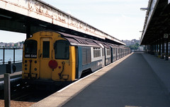485044 Ryde Pierhead 9.7.86 (D9006) Tags: isleofwight emu railways britishrail ryde rydepierhead class485 1000000trainsineurope