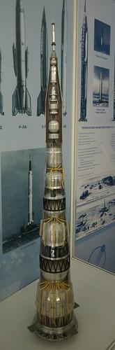 N-1 Model Cutout at the RKK Energia Museum