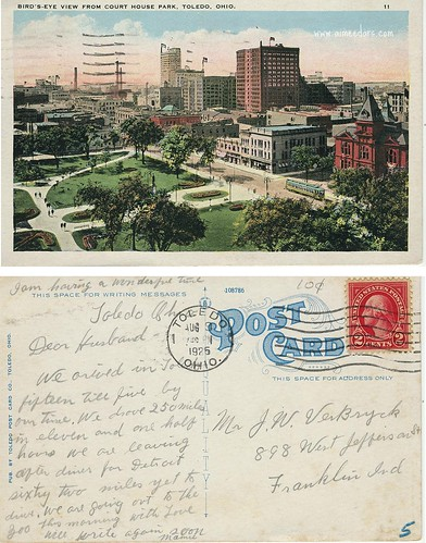 Toledo, OH - Bird's Eye View