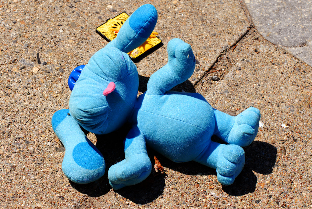 Lonesome Toys: Blue Must Be the Color of the Blues