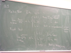 11.4 Ratio Test, Root Test